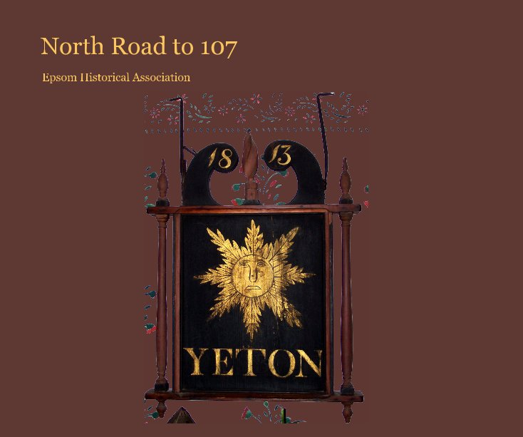 View North Road to 107 by Epsom Historical Association