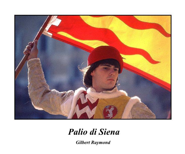 View Palio di Siena by Gilbert Raymond