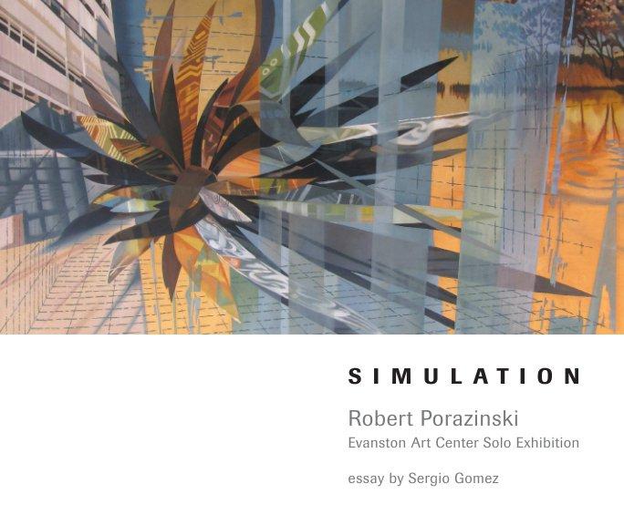 View Robert Porazinski–Simulation–Evanston Art Center Solo Exhibition by Robert Porazinski