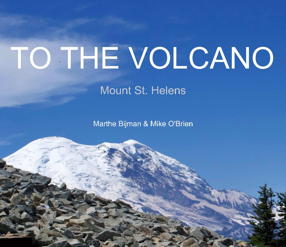 View To the Volcano by Marthe Bijman, Mike O'Brien