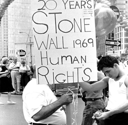View 20 Years Stone Wall 1969 - 1989 Human Rights by Jimmy McHugh