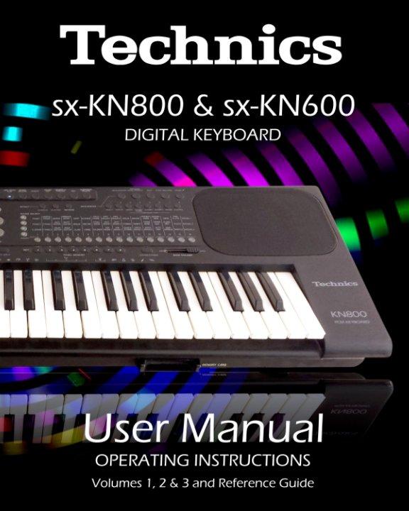 View Technics KN800 & KN600 User Manual by Technics KN800 & Technics KN600