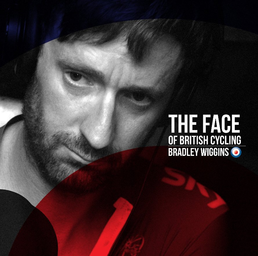 View THE FACE OF BRITISH CYCLING : BRADLEY WIGGINS by Simon Connellan