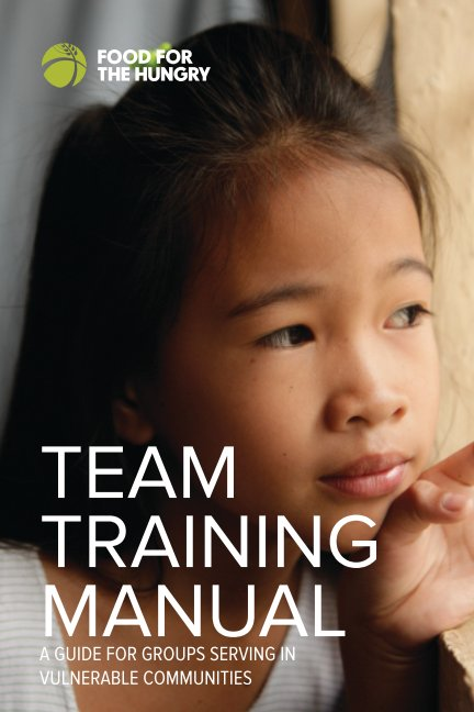 View Team Training Manual by Food for the Hungry