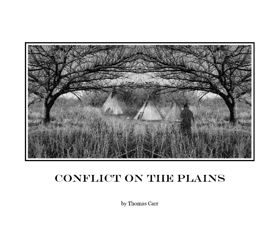 View Conflict on the Plains by Thomas Carr