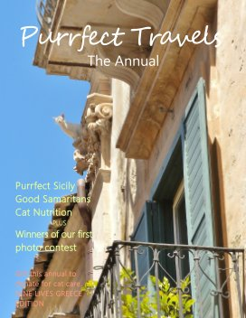 Purrfect Travels, Nine Lives Greece Edition - Pets economy magazine