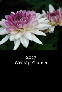 2017 Weekly Planner - Home & Garden pocket and trade book