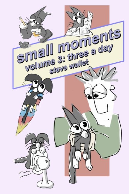 View small moments, volume 3 by Steve Wallet