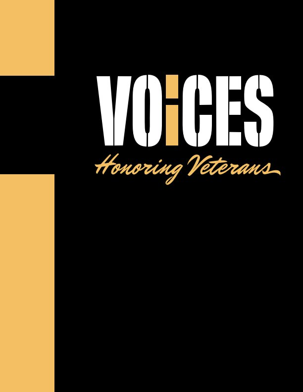 View Voices: Honoring Veterans by San Diego City College Graphic Design
