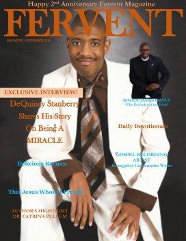 Fervent Magazine November 2015 Edition - Religion & Spirituality economy magazine