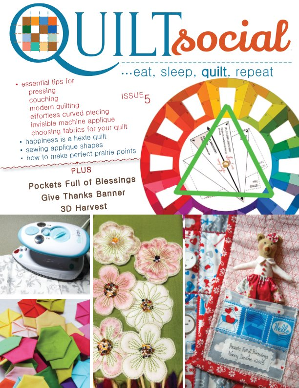 View QUILTsocial Issue 5 by A Needle Pulling Thread