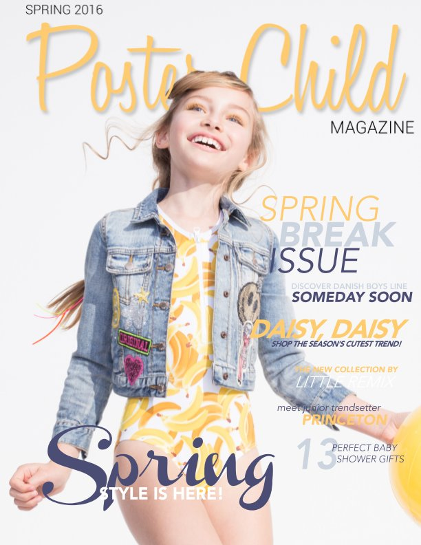 View Spring 2016 by Poster Child Magazine