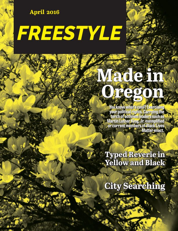 View Freestyle Magazine 02: Yellow Edition by BriAnna Rosen