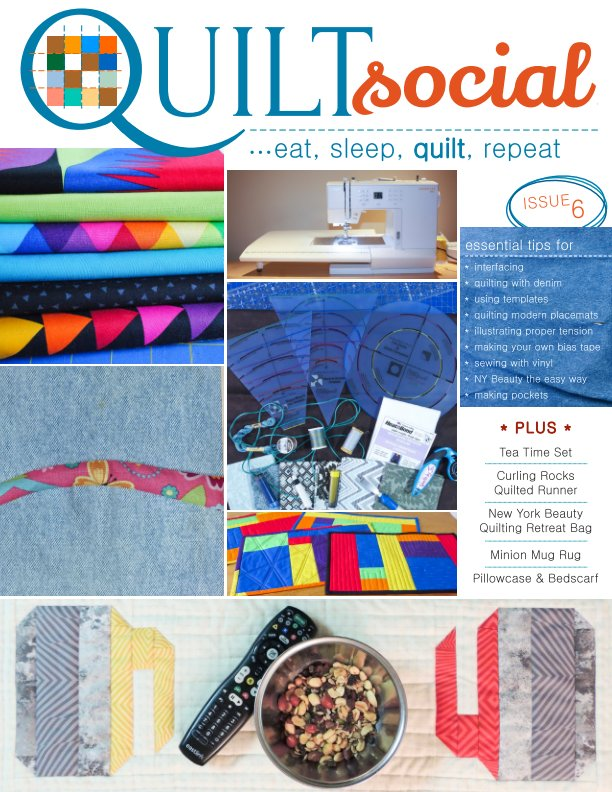 View QUILTsocial Issue 6 by A Needle Pulling Thread