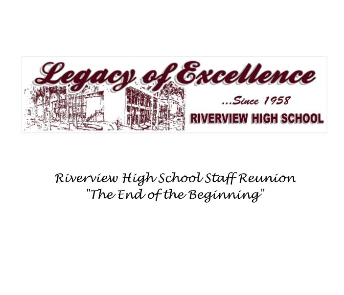 View Riverview High School Staff Reunion - November 2015 by Reunion Committee