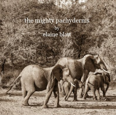 the mighty pachyderms by elaine blatt - Arts & Photography Books photo book