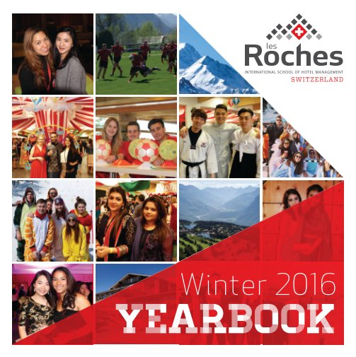 View Yearbook 2016.1 by Student Services