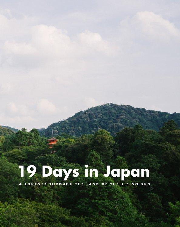 View 19 Days in Japan - Deluxe Edition by Lena Cardador & Filipe Varela