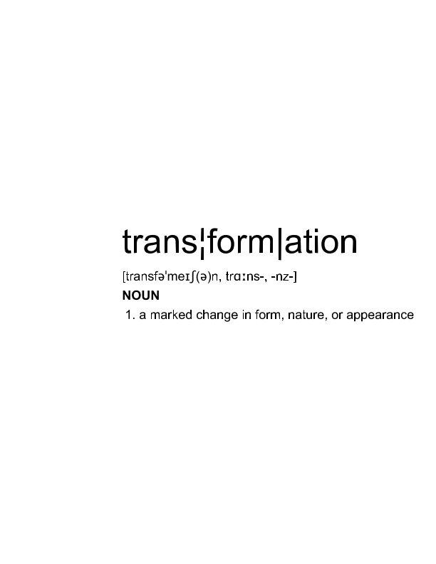 View transformation by molly locke