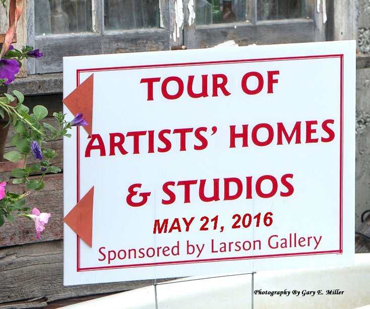 View Tour of Artists' Homes and Studios by Gary E. Miller