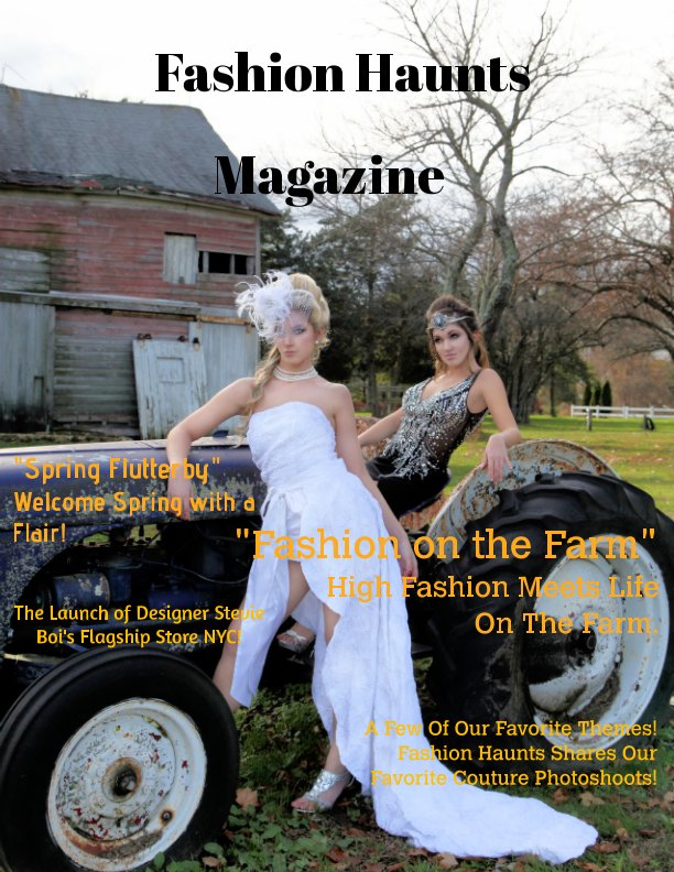 View Fashion Haunts Issue #1 by Sandra Foley