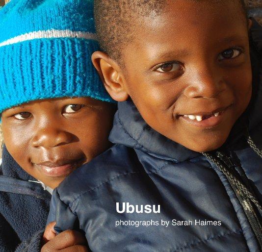 Ver Ubusu por photographs by Sarah Haimes