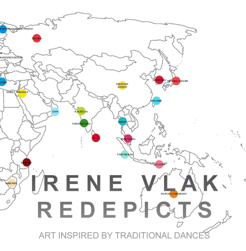 View IRENE VLAK REDEPICTS by IRENE VLAK edited by TAMARA ADAM
