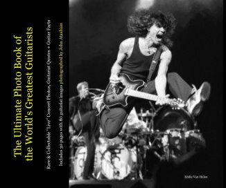 A1_The Ultimate Photo Book of the World's Greatest Guitarists - Lite Version - Arts & Photography Books photo book