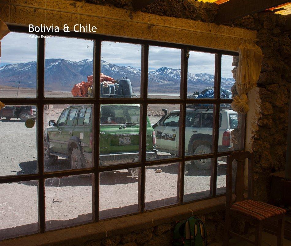 View Bolivia & Chile Matteo Berte' by Matteo Berte'
