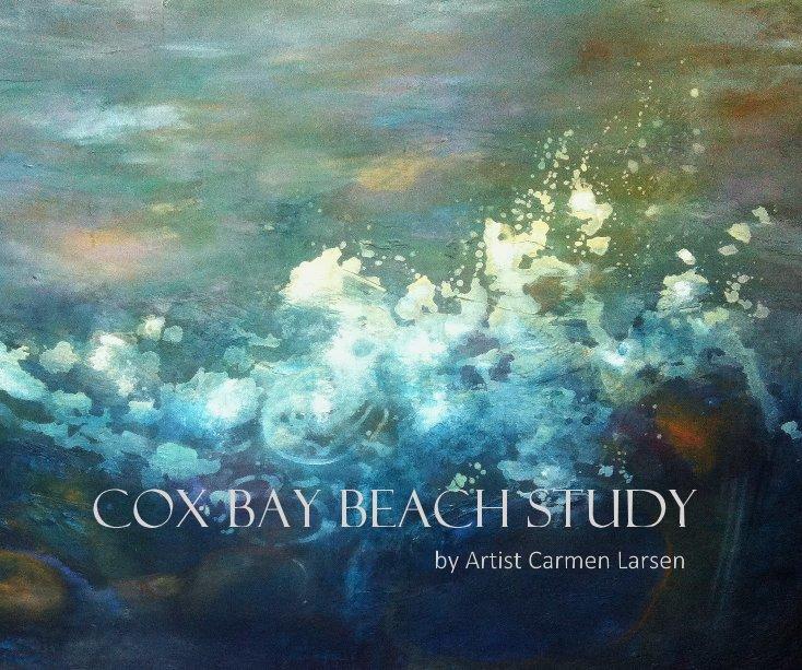 View Cox Bay Beach Study by Artist Carmen Larsen by Carmen Larsen