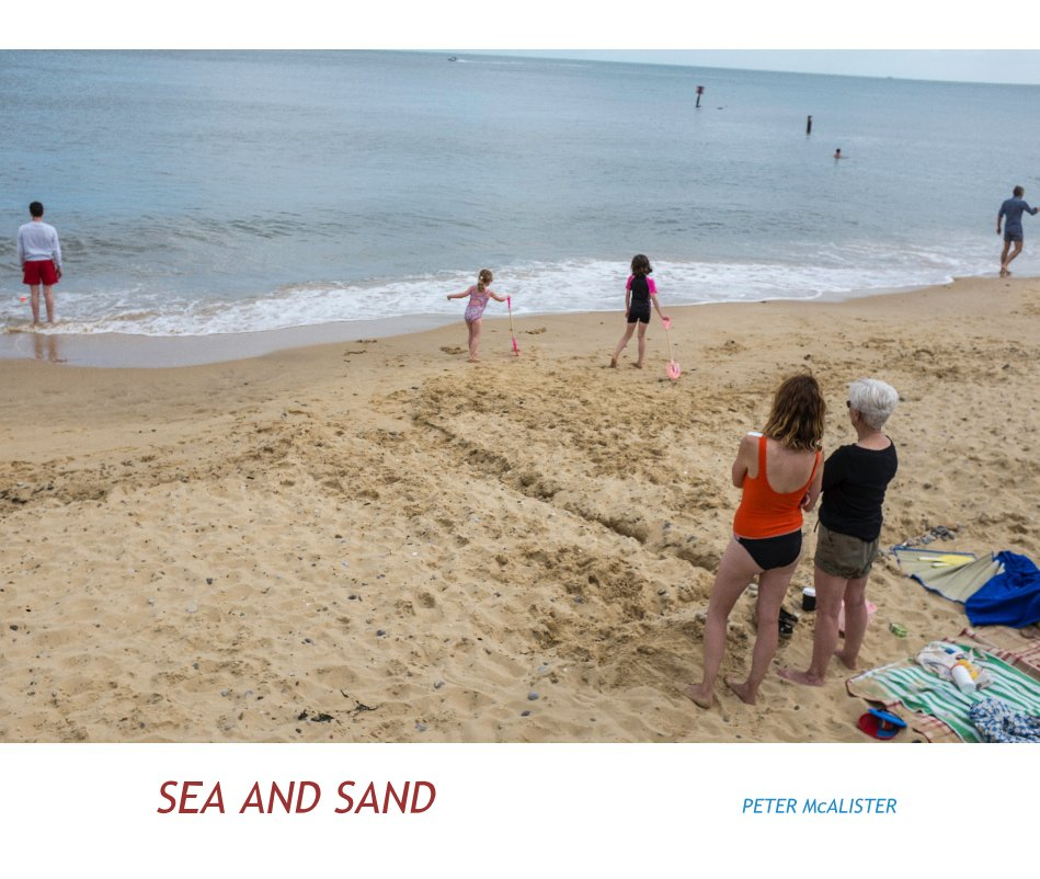 View Sea and Sand by PETER McALISTER