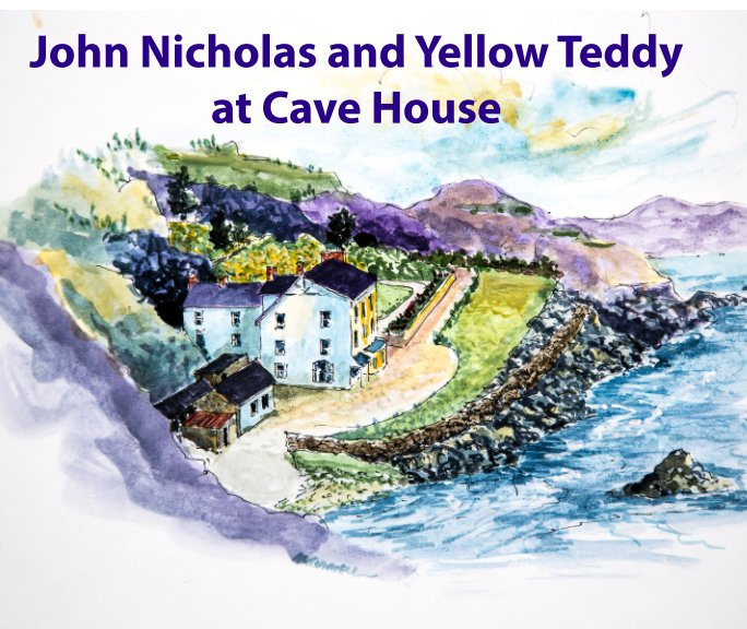 View John Nicholas and Yellow Teddy at Cave House. by John McConnell