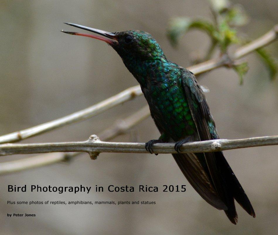 View Bird Photography in Costa Rica 2015 by Peter Jones