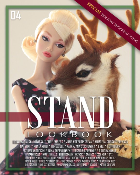 View STAND Lookbook - Volume 4 - FASHION DOLL Cover by STAND
