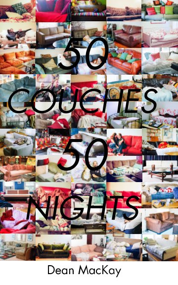 View 50 Couches in 50 Nights - paperback by Dean MacKay