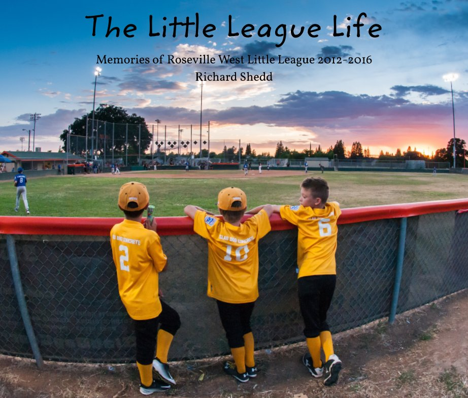 View The Little League Life (11x13 Premium Hardcover) by Richard Shedd