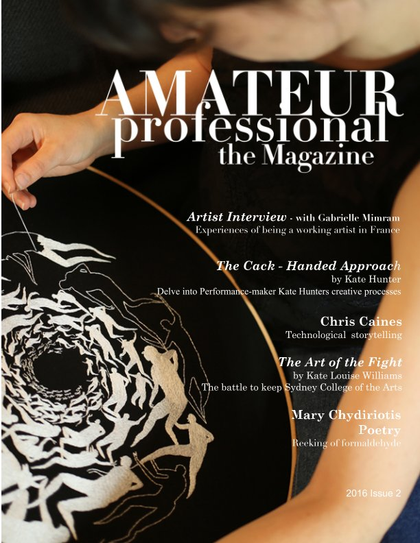 View Amateur Professional the Magazine by Vanessa White