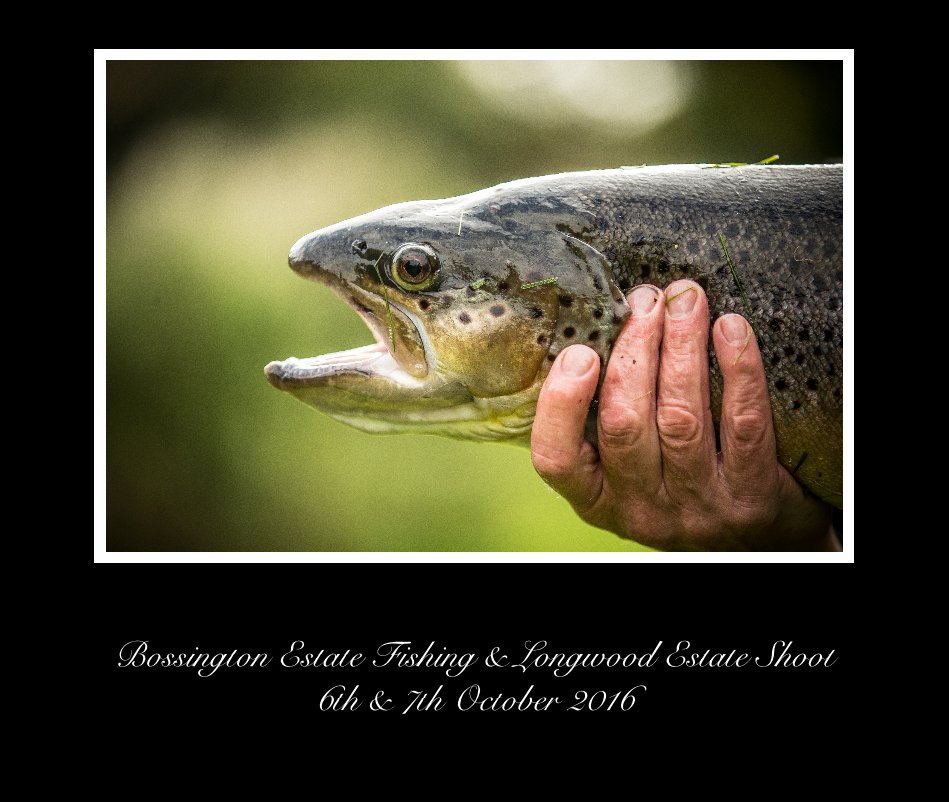 View bossington estate fishing & long wood estate shoot 6th & 7th october 2016 by Dean Mortimer