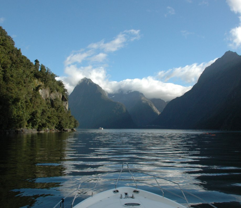 View Circumnavigating New Zealand's South Island by Graeme & Angela Rose
