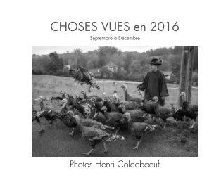 Choses vues en 2016 - Livres d'art et de photographie livre photo