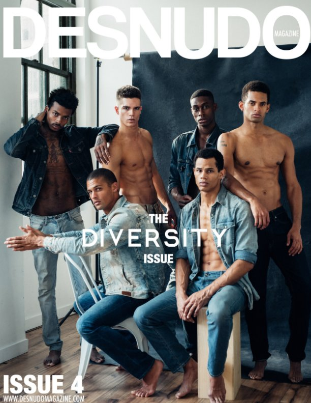 View Desnudo Magazine: Issue 4 Cover by Taylor Miller by Desnudo Magazine,