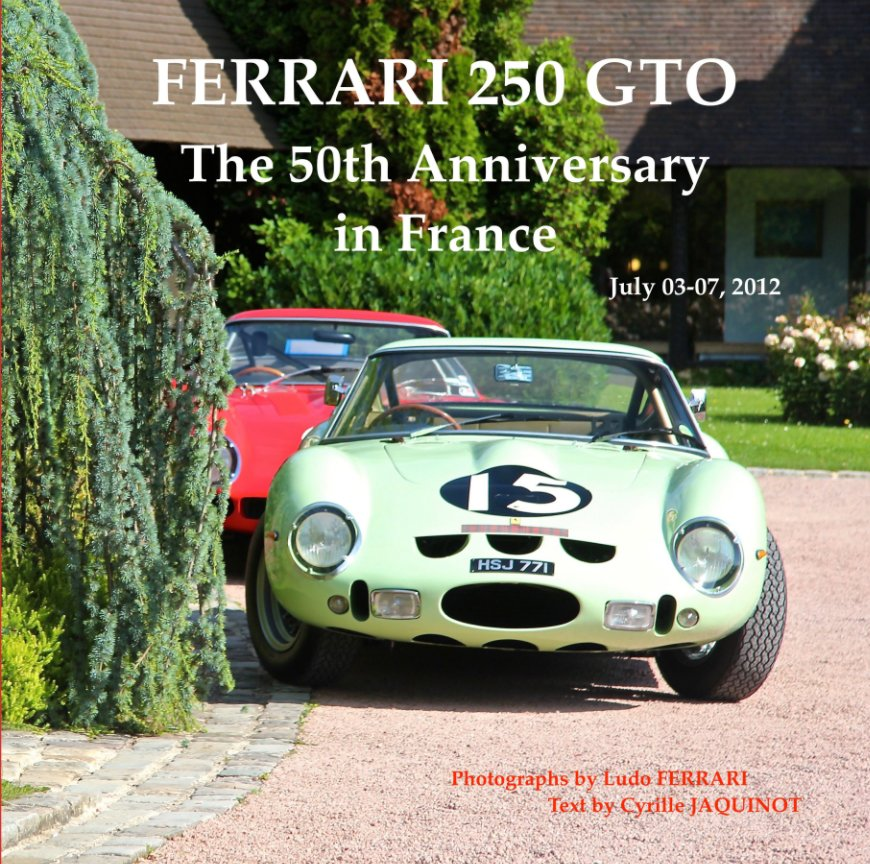 View FERRARI 250 GTO Anniversary by Cyrille Jaquinot