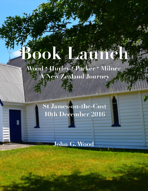 View Book Launch by John G Wood