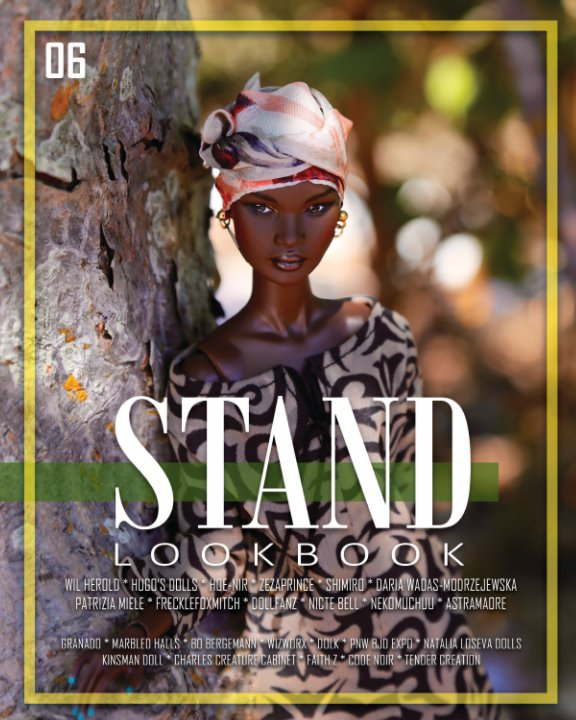 View STAND Lookbook - Volume 6 - Fashion Doll Cover by STAND