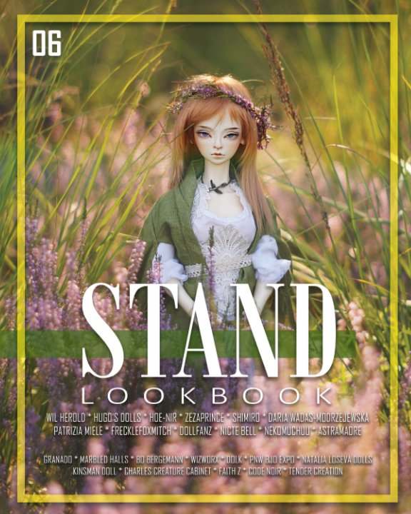 View STAND Lookbook - Volume 6 - BJD Cover by STAND