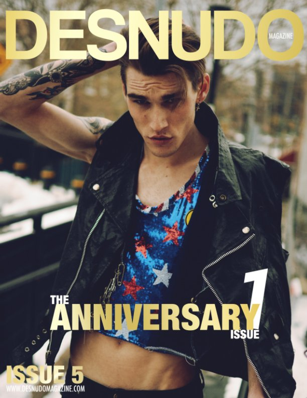 View Desnudo Magazine: Issue 5 cover by Trae Hadaka by Desnudo Magazine