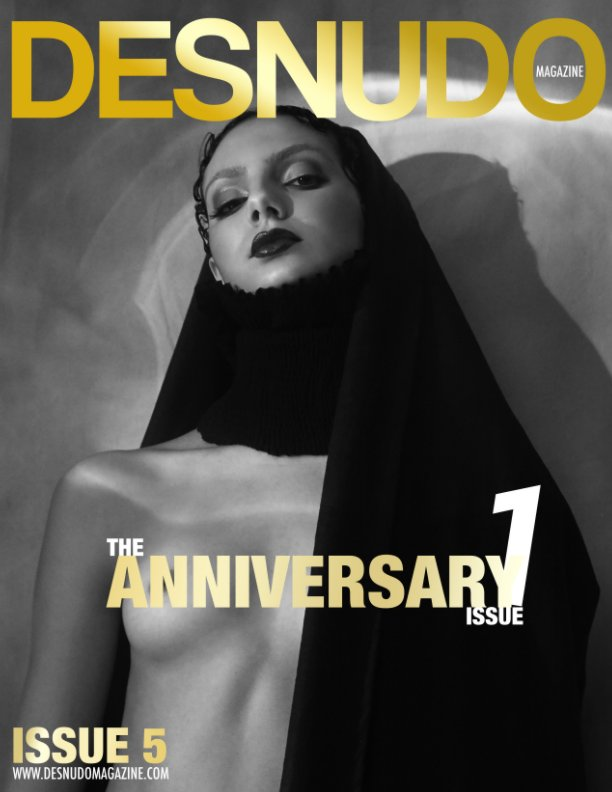 View Desnudo Magazine: Issue 5 cover by Jorge Anaya by Desnudo Magazine