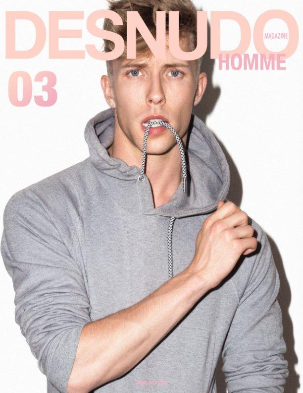 View Desnudo Homme: Issue 3 Pantelis Cover by Desnudo Magazine