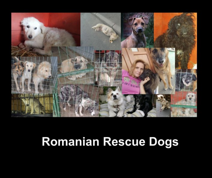Romanian Rescue Dogs fundraising book
