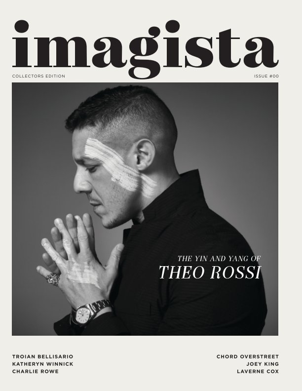 View Theo Rossi, Premium Collectors Edition by Imagista